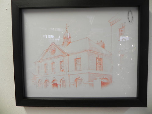 Framed Print - Broseley's Old Town Hall