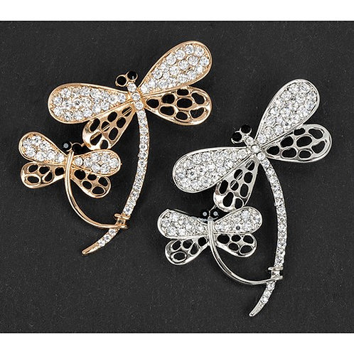 Equilibrium 2 Dragonflies Brooch