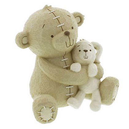 Button Corner Money Bank - 'Bear Hugs'