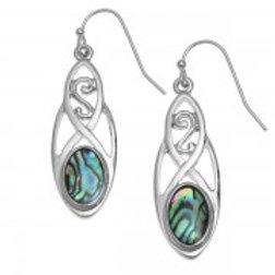 Tide Jewellery - Long Celtic Hook Earrings