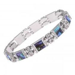 Tide Jewellery - Square Section & Diamante Bracelet