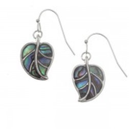 Tide Jewellery - Leaf Hook Earrings