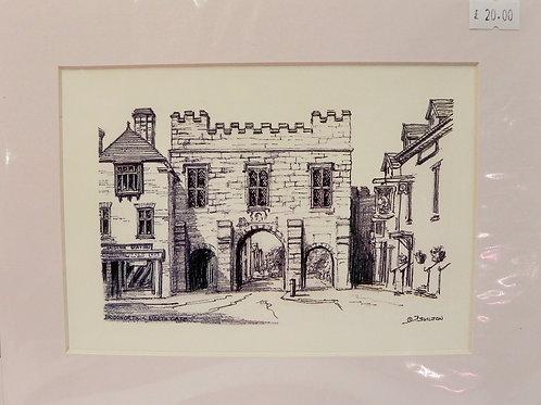 Print - North Gate, Bridgnorth