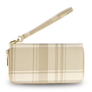 Nude Zip Around Purse/Wallet