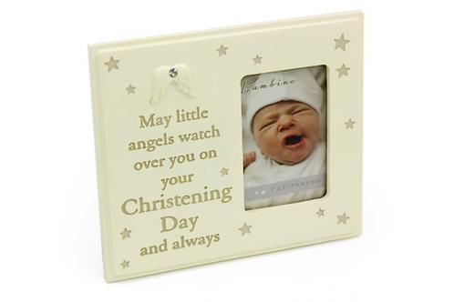 Bambino Christening Day Photo Frame