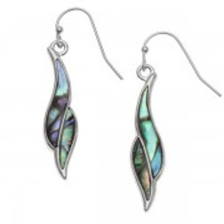 Tide Jewellery - Elongated Twist Earrings