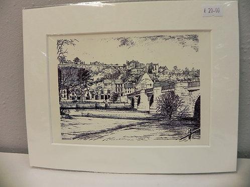 Print - Low Town, Bridgnorth