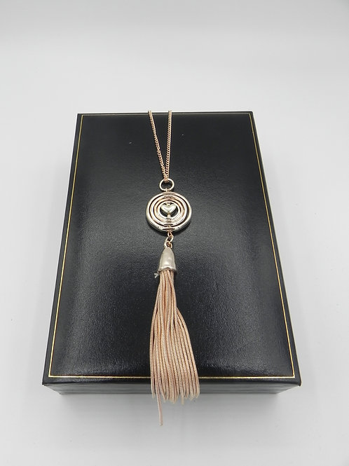 Long S/RG Necklace - LNSRG2