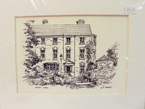 Print - Valley Hotel, Ironbridge