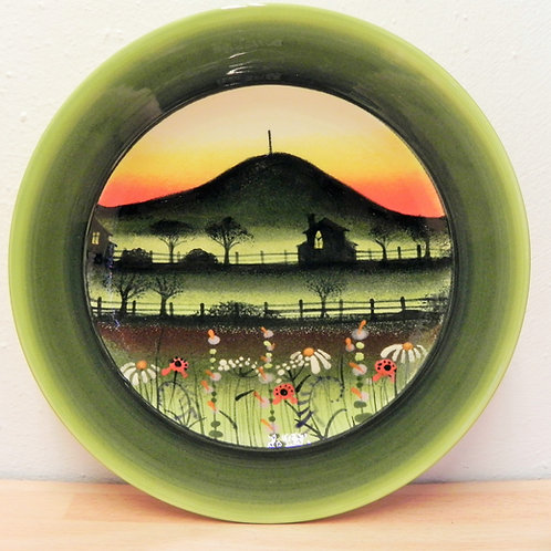 Local Arts & Crafts - Rachel Frost Wrekin Plate