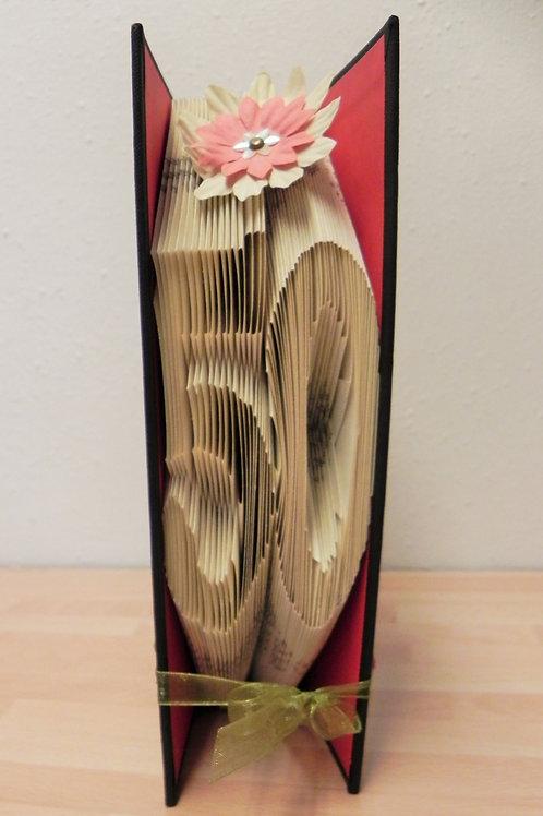 Local Arts & Crafts - Folded Book Art, 50