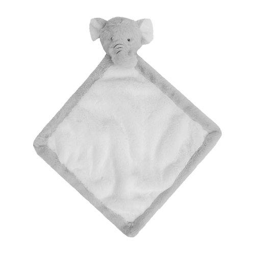 Bambino Soft Toy Square Comforter - Elephant
