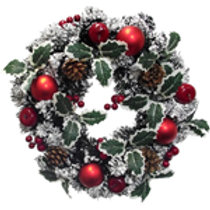 Spruce Snow Wreath
