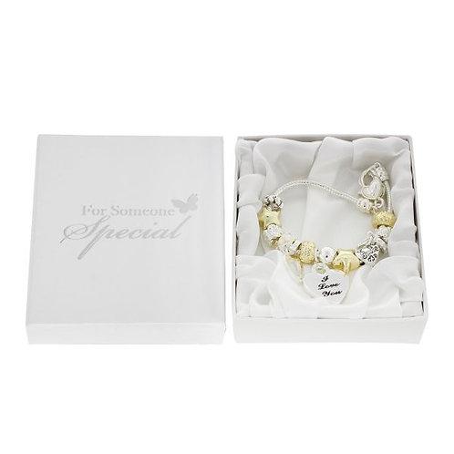 Charm Bracelet 'I Love You'