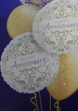anniversary balloons broseley | wedding balloons shropshire