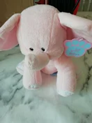 Baby Paws Pink Elelephant