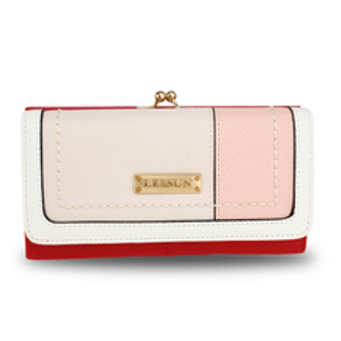 Red Patchwork Purse
