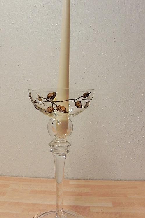 Nobile Leaf Candle Stick