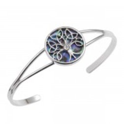 Tide Jewellery - Celtic Tree Bangle