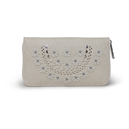 Ladies 3D Flower Print Purse