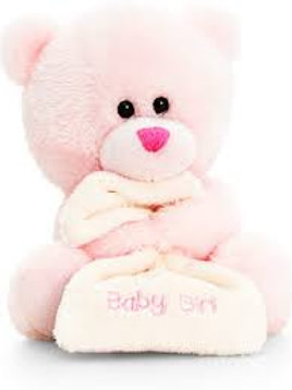 14cm Baby Pipp The Bear with Blanket