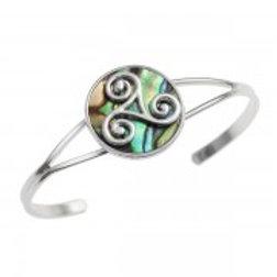 Tide Jewellery - Celtic Triskele Bangle