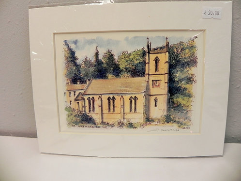 Print - St. Luke's Church, Ironbridge