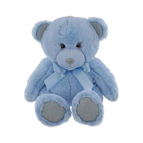 Miri Moo Plush Blue Teddy Bear