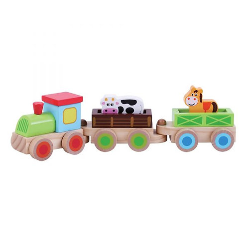 Jumini Farm Train Set