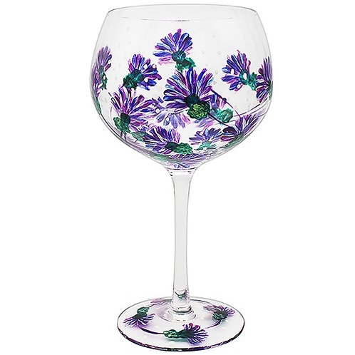 Flower Gin Glass Thistle