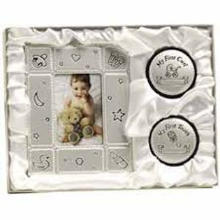 Baby Gift Set - Silver