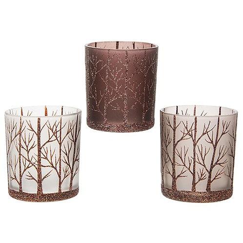 Sparkle Trees Tealight