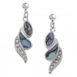 Tide Jewellery - Shell & Crystal Earrings