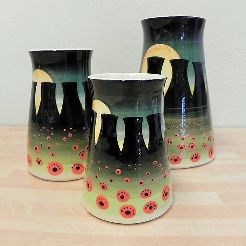 Rachel Frost Pottery Cooling Towers Vase 2 - Moonlight