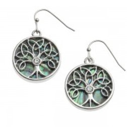 Tide Jewellery - Celtic Tree Earrings