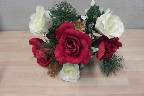 Christmas Rose Bush