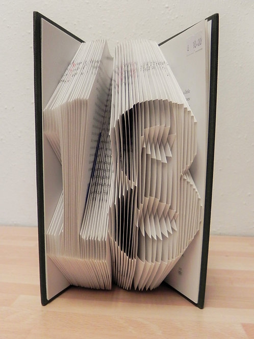 Local Arts & Crafts - Folded Book Art, 18
