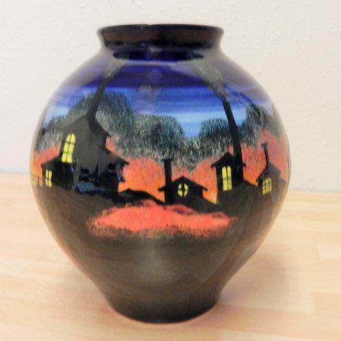 Rachel Frost Pottery Coalbrookdale Round Vase