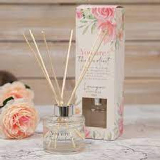 Sophia Scented Reed Diffuser Set - You Are the Loveliest