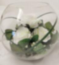 fish bowl wedding vase hire shropshire