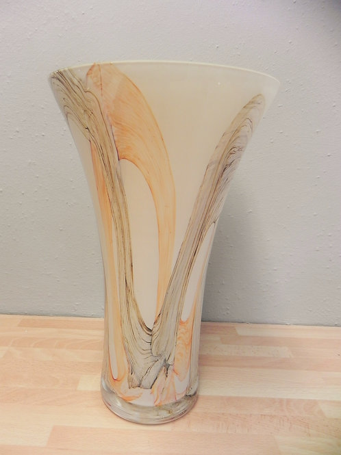 Classic Glass Vase - Apricot Earth