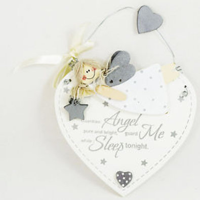 Guardian Angel Hanging Plaque