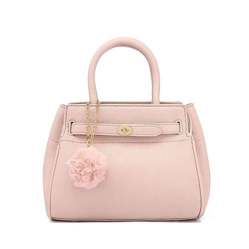Pink Top Handle Bag