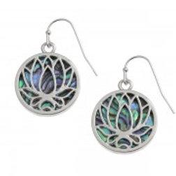 Tide Jewellery - Lotus Flower Earrings
