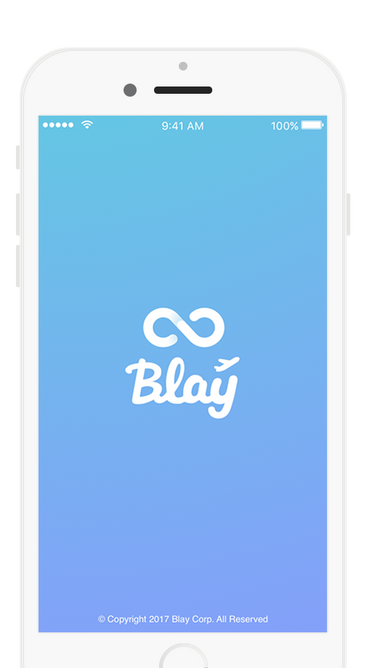 Blay Travel App Scren