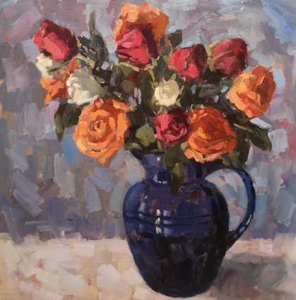 Blue Jug with Roses.jpg