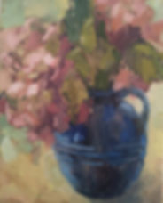 Blue Jug with Hydrangea.jpg