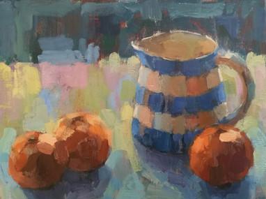 Cornishware and Oranges