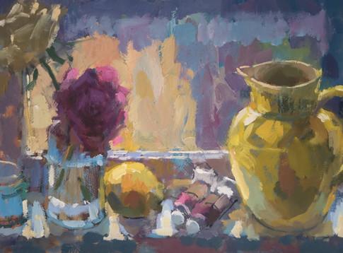 Lemon Yellow Vase.jpg