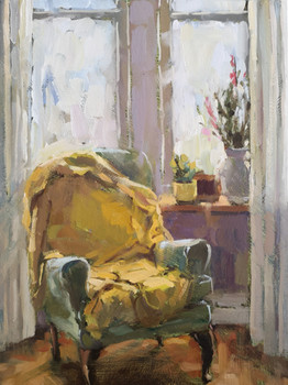 The Yellow Throw SOLD
